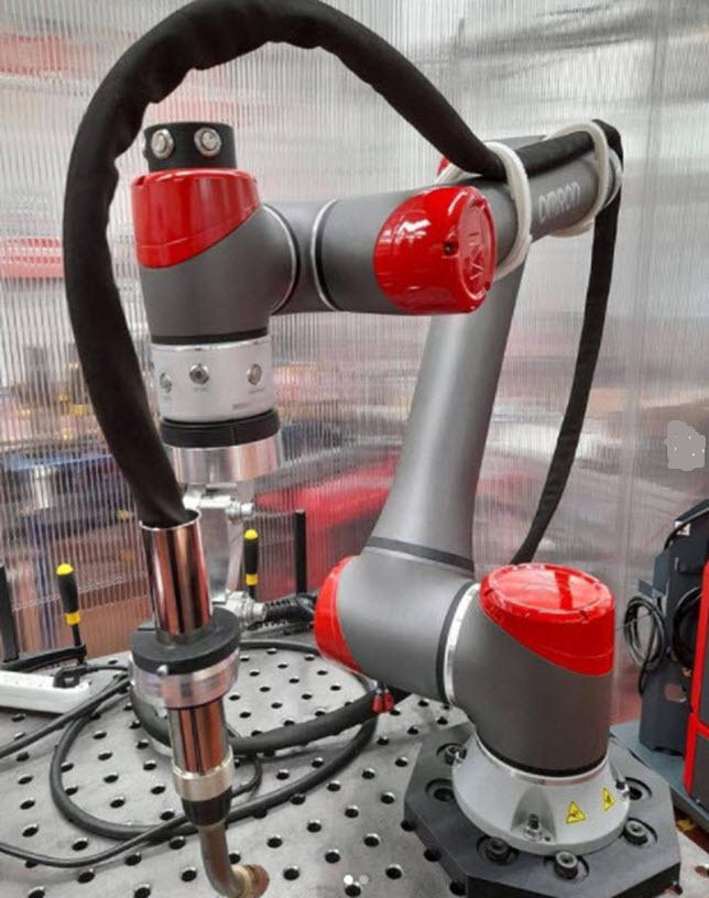 Mesas para robots colaborativos